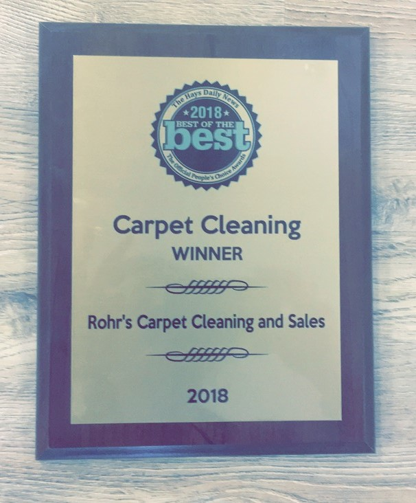 Carpet Cleaning Award 2018
